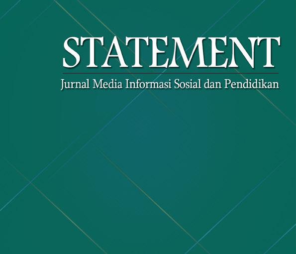 Statement | Jurnal Media Informasi Sosial dan Pendidikan
