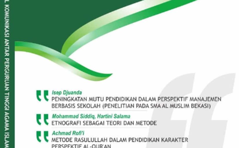 Kordinat   Jurnal Ilmu Komunikasi Antar Perguruan Tinggi Agama Islam
