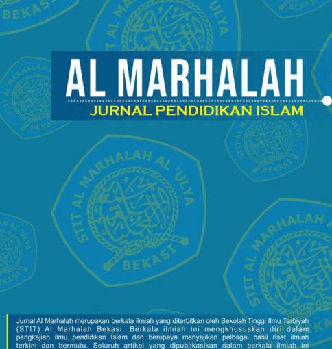 Al-Marhalah   Jurnal Pendidikan Islam
