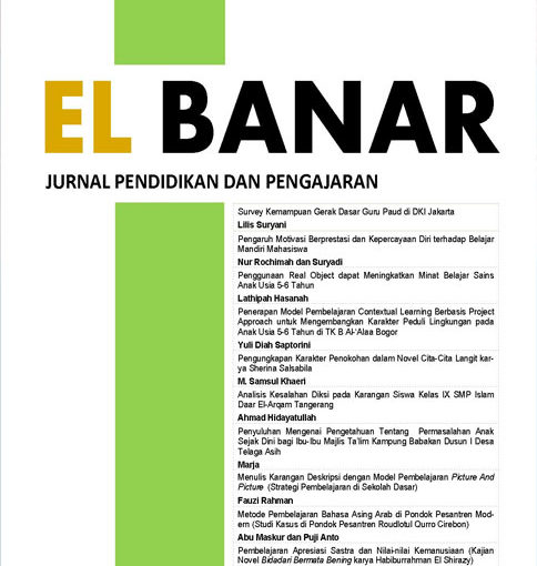 El Banar | Jurnal Pendidikan dan Pengajaran